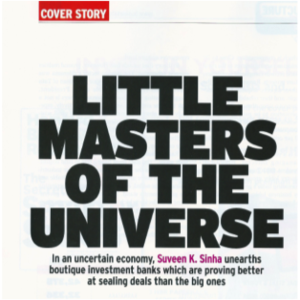 Business Today Says P2P Consultants is Better at Sealing Deals than the Big Investment Banks